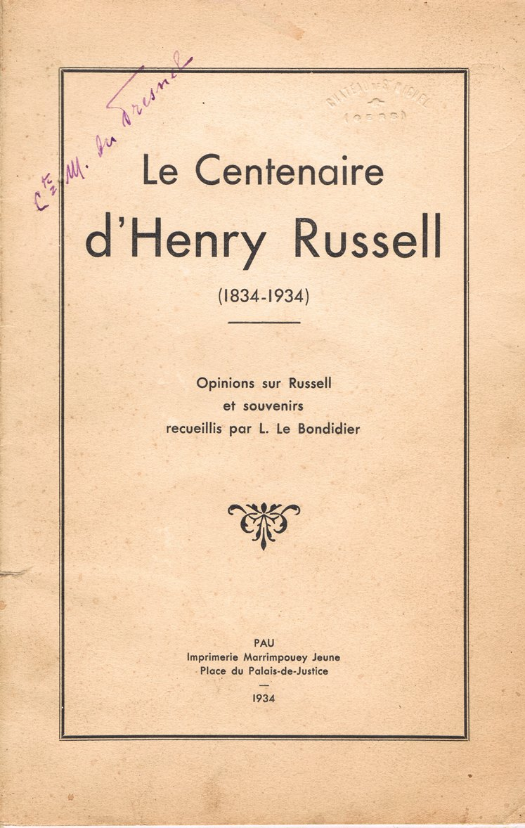 henry russell centenaire